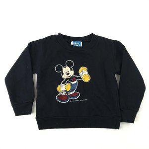 Disney Mickey Mouse Sweatshirt Baby Toddler 2T Vtg